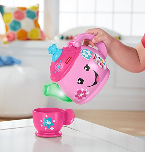41k99AT1c L - Fisher-Price Laugh & Learn Sweet Manners Tea Set