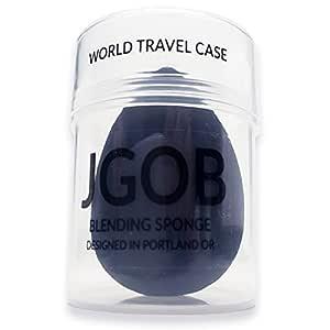 Black Charcoal Applicator Makeup Puff Blender Sponge for Beauty by JGOB