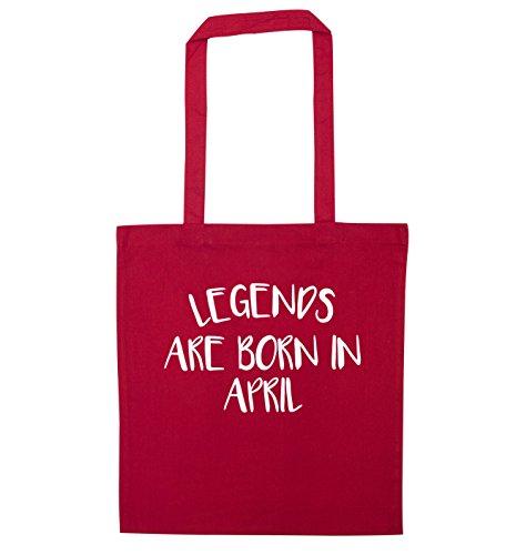 Legends bag tote Legends April in are born are Red faxpZfS