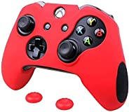 MandaLibre Funda Profesional para Controles de Consolas Xbox One Fat, S y X (Rojo)