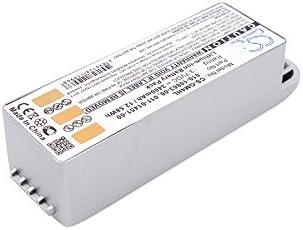Zumo 500 Deluxe Zumo 550 Zumo 500 Navigation Battery GAXI Battery Replacement for Garmin Zumo 400 Comapatible with Garmin Zumo 450 GPS