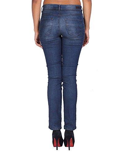 Slim Straight Diesel Blu 857c Sandy Da Dona Jeans Regular xqqRYw7C