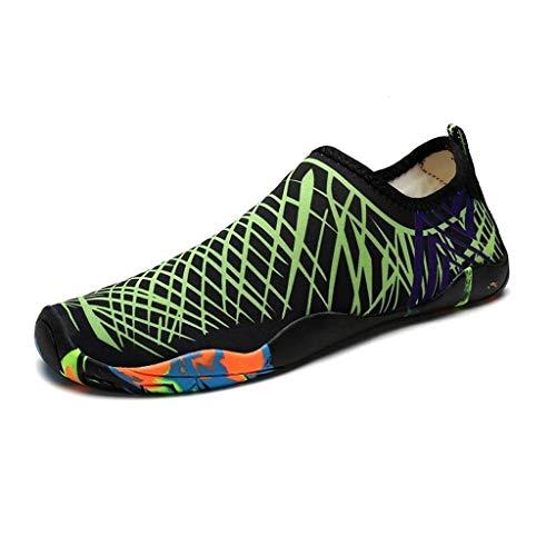 Nus Sport Chaussures Résistant Ailj Pieds 6 De Plage D'eau À Rapide C Green L'usure Séchage Surf Nus Chaussettes Bdwqw7Y