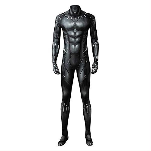 Boomtrader Black Muscle Battle Suit Costume Halloween Cosplay