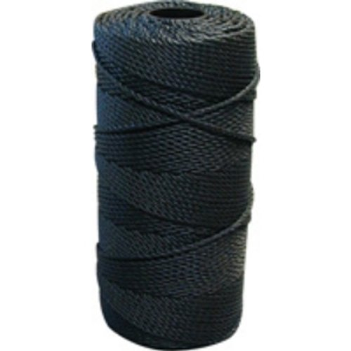 Lee Fisher Size 48 1 lb Braided Twine Black 370 Ft 280 Test