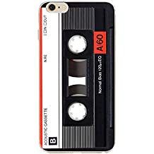Iphone 5, Heavy Duty Durable TPU Bumper Soft Back Cover Retro Cassette Tape For iphone SE 5S