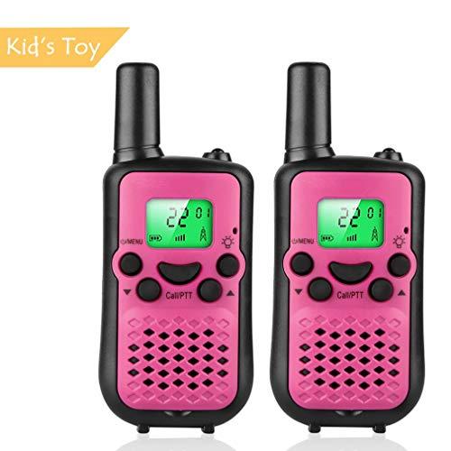 Girls Walkie Talkies for Kids Walky Talky Radios 22 Channel Long Range Interphone-Best Gift