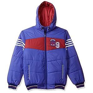 Cazibe Boy's Quilted Regular fit Jacket (14680BT_Royal_36)