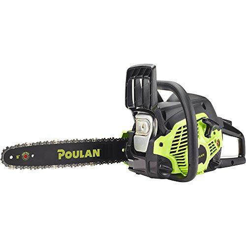Poulan 967084701 38cc 2 Stroke Poulan Gas Powered Chainsaw, 16'' by Poulan Pro
