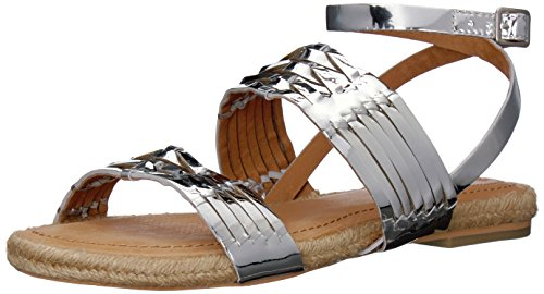 Opportunity Shoes - Corso Como Women's Pennisula, Silver/Metallic Specchio, 7 M US