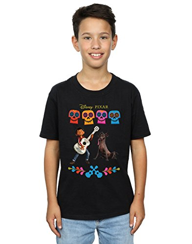 Disney Boys Coco Miguel Logo T-Shirt 5-6 Years Black