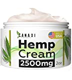 Best Arnica Creams - Natural Hemp extract Pain Relief cream 2500MG Hemp Review