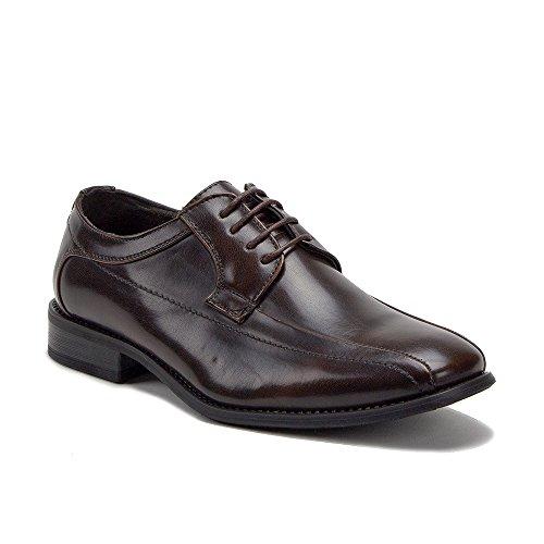 Up Dress Classic Lace Shoes Brown Mens Oxford M1754 wqzUxtAAT