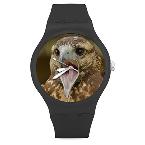 american-pride-the-bald-eagle-design-unisex-round-rubber-sport-watchwatch-face-diameter-158
