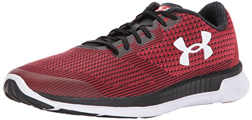 Under Armour Men's Charged Lightning, Red/Black/White, 13 D(M) US