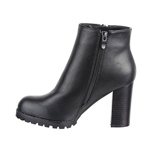 Elara Women's Chelsea Boots Black sYr8jScp