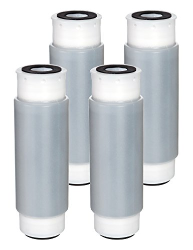 e House Filter Replacement Interchangeable with 3M Aqua-Pure AP117, Whirlpool WHKF-GAC, 4 Pack (Pur Undersink Filter)