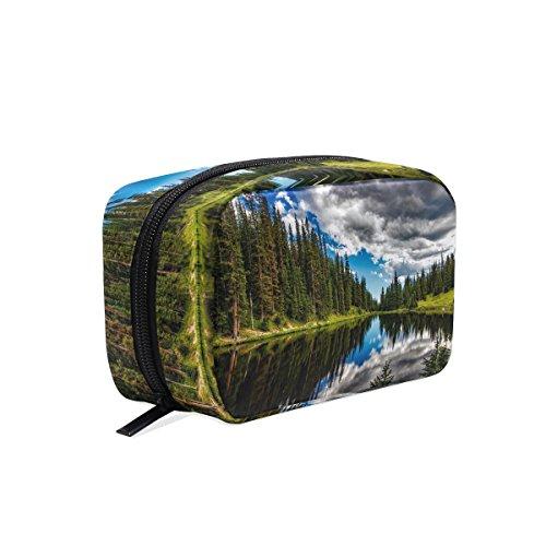 Square cosmetic storage bag Multifunctional Waterproof Travelling Bag Printing storage (Irene Bag)