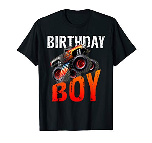 Birthday Boy - Monster Truck Rule JAM T-shirt