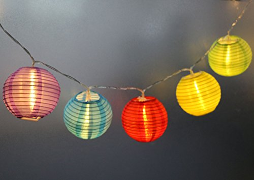 Lantern Solar String Lights - 6