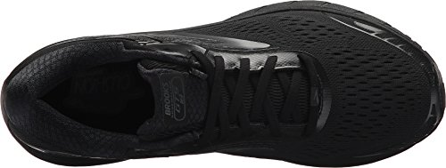 Brooks Men s Adrenaline GTS 18 Black Black 8 EE US EE – Wide