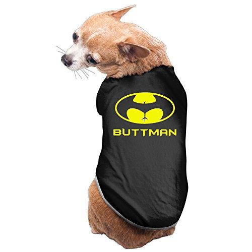 [Elnory BUTTMAN PARODY Puppy Shirt M] (Spiderman Costumes Walmart)