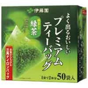 (業務用20セット)伊藤園 プレミアムティーバッグ 緑茶50P フード ドリンク スイーツ お茶 紅茶 日本茶 その他の日本茶 [並行輸入品] B01BHNOQF8