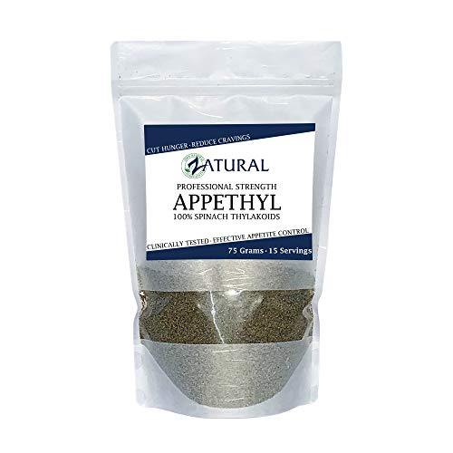 Appethyl Energy Powder, Pure Spinach Extract – Reduced Cravings, Healthy Dose of Green – 75gram