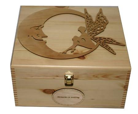 Personalised Natural Pine Wooden Keepsake Memory Box Decorative Beauteous Decorative Keepsake Memory Boxes