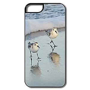 PTCY IPhone 5/5s Custom Fashion Birds Beach