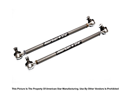 American Star Yamaha 4130 ATV Chromoly Steel Tie Rod Upgrade For YFZ450 04-09, Raptor 660R 01-05, Raptor 700R 06-18, Suzuki LT-A & F 500F Vinson 04-07 ()