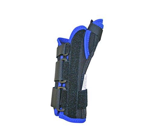 Deroyal 350LL Premium Wrist and Thumb Splint, Left, Large, 8