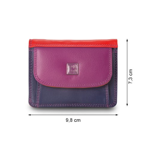 Dudu Fuxia Color leather leather Dudu Color Hokkaido Wallet Collection Wallet Collection Colorful Fuxia Hokkaido Colorful qxSCqBr