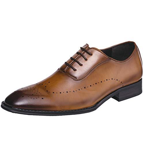 Jivana Oxford Business Dress Shoes for Men Lace-up