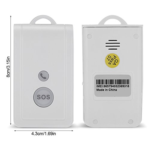 Zerodis SOS Panic Button, GSM SIM Card Wireless Emergency Alarm Alert System Security Kit Emergency Call Device with Strap by Zerodis (Image #4)