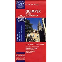 IGN PLAN : QUIMPER NO.72352