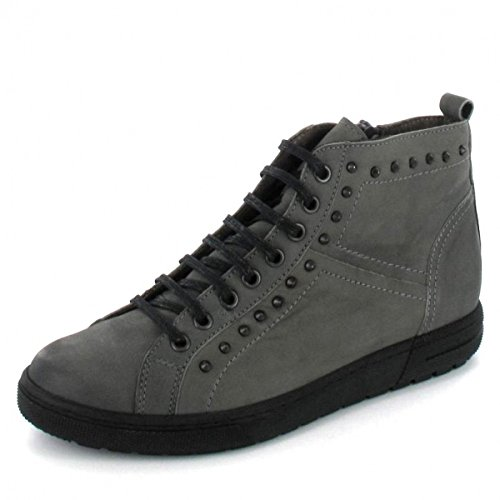 Jana »Lederimitat« Sneaker, braun, hellbraun