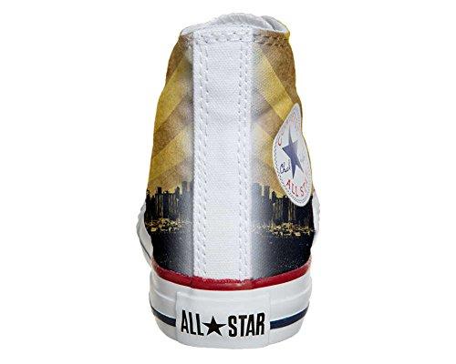 Converse Customized - zapatos personalizados (Producto Artesano) Chicago Style
