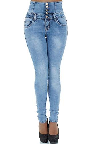 malucas Jeans - Skinny - Femme Bleu