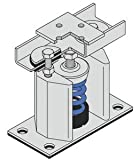 8-3/4''H 5/8''Dia Bolt 750Lb Cap Floor Mount Seismic & Wind Vibration Isolator