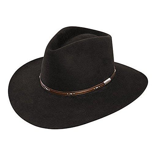 Stetson Men's 5X Pawnee Fur Felt Cowboy Hat - Sfpawn-403222 Choc