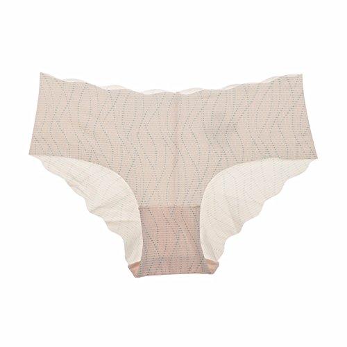 La Isla - Braguita de Talle Bajo Sin Costuras Para Mujer, Pack de 6 Mixed 6 Pack #P