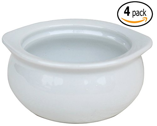 Mbw Nw Brands Cac Ceramic Onion Soup Crock Bowl With Pan
