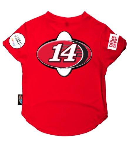 Dog Zone NASCAR Pet Performance Football Jersey, X-Small, Tony (Nascar Dog Clothes)