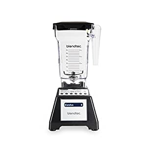 Blendtec Total Classic Original Blender - Fourside Jar (75 oz), Professional-Grade Power-6 Pre-Programmed Cycles-10… 2
