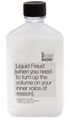Pas de savon, Radio - Liquid Freud - Body Wash / scrub (lavage du corps)