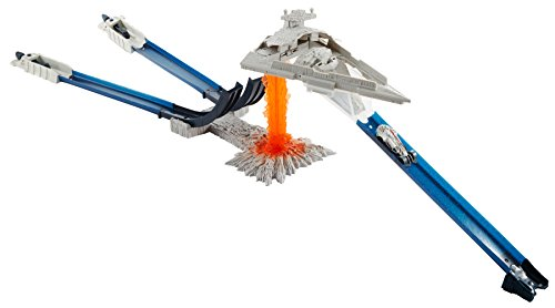 Hot Wheels Star Wars Carships Double Jump Star Destroyer Battle Playset -