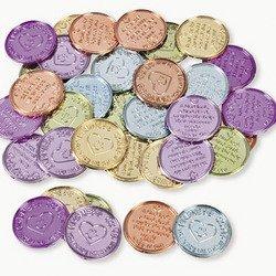 Plastic Kindness Coins (12 dozen) - Bulk