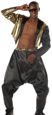 California Costumes Men's Old School Rapper Costume