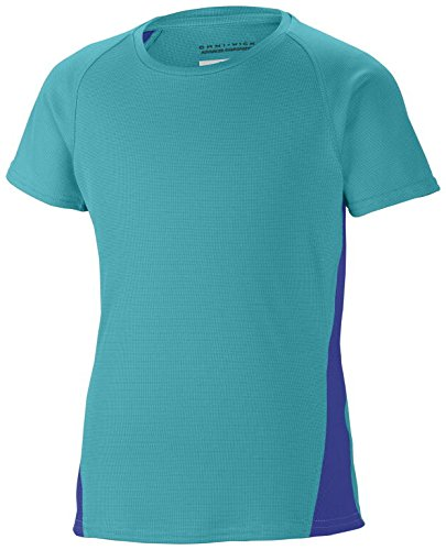 Youth Columbia Sportswear Girls Silver Ridge III Short Sleeve Tech Tee